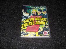 THE GREEN HORNET STRIKES AGAIN CLIFFHANGER SERIAL 15 CHAPTERS 2 DVDS