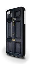 221b Baker Street Sherlock Holmes Cubierta Estuche para iPhone 4/4s 5/5s 5c 6 6 Plus