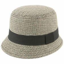 Hat Women Brim Cap Ladies Wool Fedora Felt S Cloche Fashion Black Band Hawkins