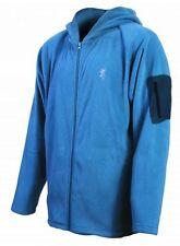 Browning Men's Hooded Fleece Jacket w/ Sleeve Pocket Mens  BRI0028 Blue
