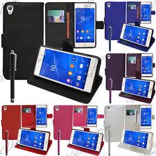Schutz Hülle für Sony Xperia Z3 Z3 Dual Handy Brieftasche Flip Case Cover Schale