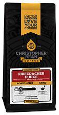 Christopher Bean Coffee FIRECRACKER FUDGE Flavored Coffee 1-12 Oz Bag