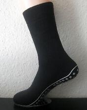 ABS femmes chaussettes anti-glisse avec nœud SEMELLE NOIR BLEU OU GRIS