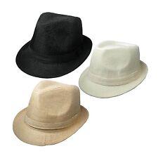Hombre vendedor GB De Calidad Colorido Tela Borsalino Sombreros 38853-4