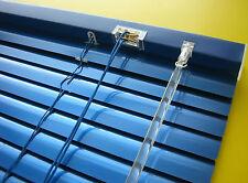 Jalousette Aluminium Tür Rollo Alu Jalousie Fensterrollo Blau Orientblau Marine