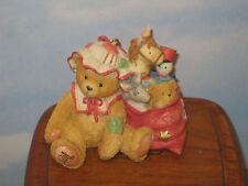 Cherished Teddies Carolyn with Toy Bag Mib 912921