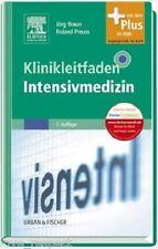 KLINIKLEITFADEN INTENSIVMEDIZIN, 7. Auflage, mit Web-Zugang, NEU/OVP + PORTOFREI