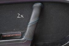 FITS MAZDA RX7 FC3S 2X DOOR HANDLE COVERS blue stitch