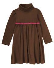 GYMBOREE FALL HOMECOMING BROWN RIBBON KNIT DRESS 4 5 NWT