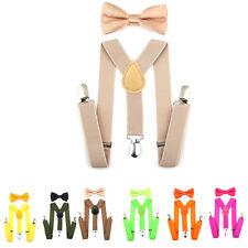 bambini bambine da bambino bretelle costume abiti righe quadri pois