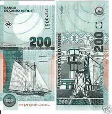 Cape Verde 200 Escudos 2005 Uncirculated