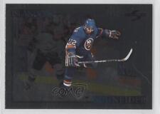 1995-96 Score Black Ice #206 Mathieu Schneider New York Islanders Hockey Card