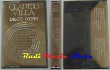 MC CLAUDIO VILLA Disco d'oro SIGILLATA lineavis ITALY sc lv3355 no cd lp dvd vhs