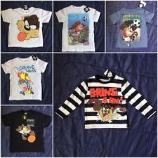 Autentico Ufficiale Looney Tunes TAZ Diavolo della Tasmania T-shirt Tee Bambini Bambine Bambini