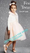 NWT Janie & Jack PRIMA BALLERINA 4 5 6 Tulle Dress $109 Pastel Ballet Blush PINK