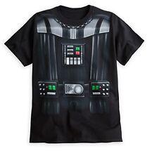 Disney Store Authentic Star Wars Darth Vader Mens Costume T Shirt Tee Size S XXL