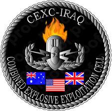 STICKER MILITARY CEXC IRAQ