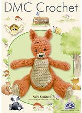 Sally Squirrel - Woodland Folk DMC Crochet Pattern
