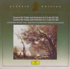 LP * Mozart-Violinkonzerte n. 3 & 5 * puliti-cleaned; Club Edition