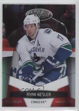 2010-11 Certified Mirror Red #143 Ryan Kesler Vancouver Canucks Hockey Card