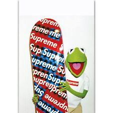 59157 Kermit The Frog Fashion Wall Print Poster CA