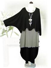 PoCo LAGENLOOK Pullover Pulli Long-Shirt 44 46 48 50 52 54 56 58 L-XL-XXL-XXXL