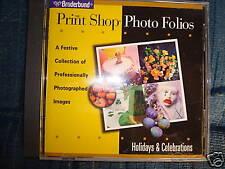 The Print Shop Photo Folios Holidays & Celebrations