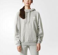 Adidas Originals 3 Stripe Hoody Women's AB2092 NWT Gray Hoodie Sweatshirt Rare