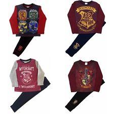 Kids Boys Girls Harry Potter Hogwarts Gryffindor Pyjamas Pjs Sleepwear