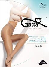 """Gatta """"Estella"""" 15 den Strumpfhose transparent, halbmatt"""
