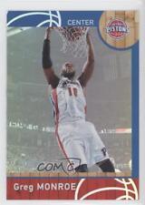 2013 Panini NBA (International) NBA2K Online CDKey Player Cards #95 Greg Monroe