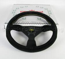 Personal Steering Wheel - Grinta - 330 mm Black Suede