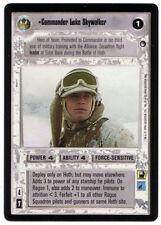 SWCCG Star Wars CCG • Commander Luke Skywalker Jedi • HOTH