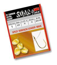 DAM SUMO SPEZI -  Vorfachhaken  MAIS  Haken  Farbe: GOLD  Länge: 70cm