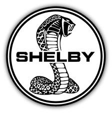 Shelby Logo Cobra Auto Car Bumper Sticker Decal - 3'' or 5''