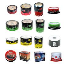MAXELL LARGE RANGE OF DISCS DVD-R, DVD+R, CD-R, AUDIO CD-R/CD-RW, DVD-RW, DVD+RW