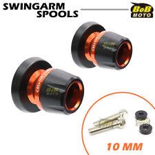 For Kawasaki ZX6R/ZX6RR/636 98 99 00 09 10 11 12 BoB CNC Swingarm Spools