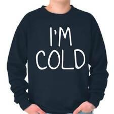Im Cold Cute Cuddle Snuggle Winter Chill Gift Crewneck Sweat Shirts Sweatshirts