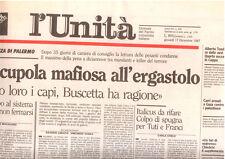 M5 L'UNITA N 296 - 17 DICEMBRE 1987