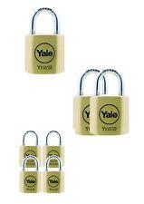 Padlock  Yale solid brass lock Y110/20/111/1  / Y110/20/111/2  /  Y110/20/111/4