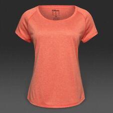 Ladies Tennis t shirt by Wilson Core Cap Sleeve nasturtium upf +30 sun protectio