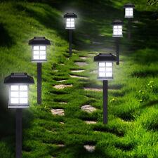6-24x LED Solarlampe Gartenlampe Außenlampe Solarleuchte Beleuchtung Leuchte