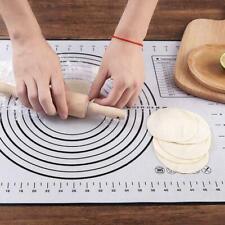 Non-Bâton Tapis De Cuisson En Silicone Extra Large Pâte Noir de Pâtisserie Z4H6