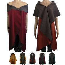 AMAVISSE UK - Fashion Women Spring Long Shawl Cardigan Cape