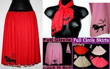 Rock N Roll Skirt & Scarf Set Poodle 1950s/60s Fancy Dress Set