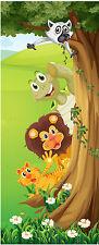 Adesivo bambino porta Animali jungle ref 1729