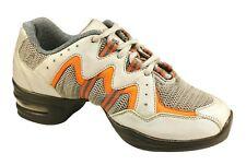 Sansha Helium Adults / Childrens Dance Sneakers Split Sole Silver - UK Supplier