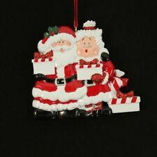 Mr. & Mrs. Santa 2 3 4 5 6 7 Gifts Personalized Christmas Ornament Kit