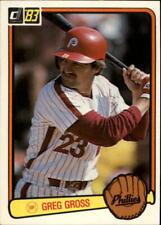 1983 Donruss Baseball Cards 441-660 +Rookies - U Pick - Buy 10+ cards FREE SHIP