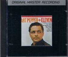 Pepper, Art + Eleven Modern Jazz Classic MFSL Silver CD